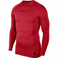 Tricou Nike Pro Top compresie maneca lunga rosu 838077 657 barbati