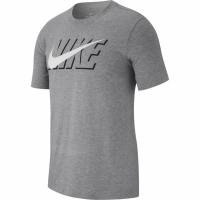 Tricou Nike Sportswear BLK Core barbati gri AR5019 051 pentru femei