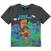 Tricou No Fear cu imprimeu Moto pentru baietei