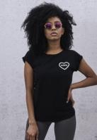 Tricou Nope pentru Femei negru Mister Tee