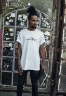 Tricou Not A Crime alb Mister Tee