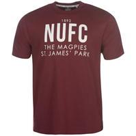 Tricou NUFC NUFC Magpie pentru Barbati