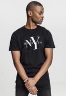 Tricou NY Brooklyn negru Mister Tee
