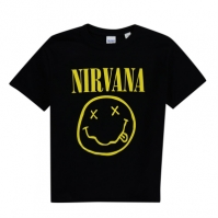 Tricou Official Official Band Nirvana pentru baietei