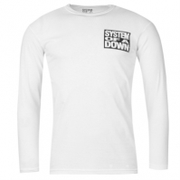 Tricou Official Official System of a Down LS pentru Barbati