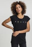 Tricou PEACE pentru Femei negru Mister Tee