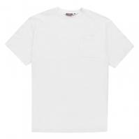 Tricou Pierre Cardin Extra Large Single cu buzunar pentru Barbati alb