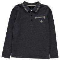 Tricou Polo cu Maneca Lunga Firetrap pentru baietei