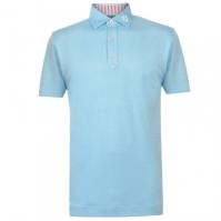 Tricouri polo cu dungi Footjoy Heather Shirt pentru Barbati