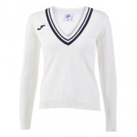 Tricou Polo Tenis 80 Joma cu maneca lunga alb pentru Femei