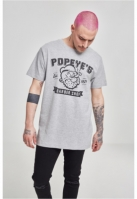 Tricou Popeye Barber Shop deschis-gri Merchcode