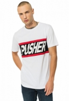 Tricou Power alb Pusher