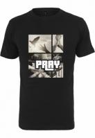 Tricou Pray Motive negru Mister Tee