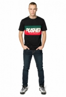 Tricou Pusher Hustle negru