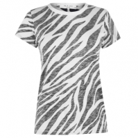 Tricou Rag and Bone Rag And Bone imprimeu zebra