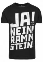 Tricou Rammstein Ramm 4 negru