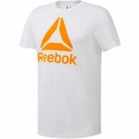 Tricou Reebok QQR- Stacked alb DU4692 barbati