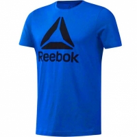 Tricou Reebok QQR- Stacked albastru DU4688 barbati
