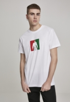 Tricou RNLD alb Mister Tee