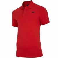 Tricou rosu 4F NOSH4 TSM008 62S pentru Barbati
