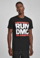 Tricou Run DMC pentru barbati negru Mister Tee