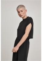 Tricou scurt Modal pentru Femei negru Urban Classics