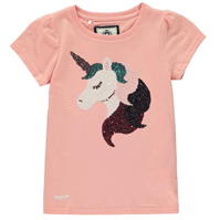 Tricou Requisite Sequin Unicorn pentru fete