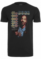 Tricou Snoop Dogg Retro negru Merchcode