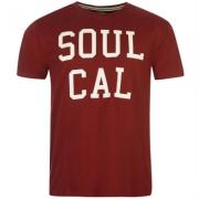 Tricou cu imprimeu SoulCal pentru Barbati