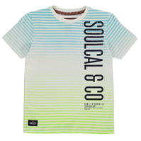 Tricou SoulCal cu dungi pentru baietei