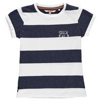 Tricou SoulCal cu dungi pentru fetite