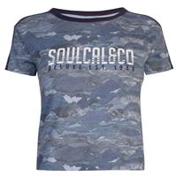 Tricou SoulCal Deluxe Mountain Print
