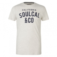 Tricou SoulCal Textured Flecked