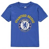 Tricou Source Lab Chlesea FC Crest pentru baietei