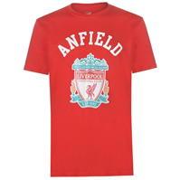 Tricou Source Lab Liverpool Crest pentru Barbati