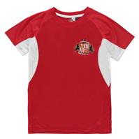Tricou Source Lab Sunderland AFC Poly pentru baietei