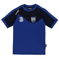 Tricou sport antrenament Azzurri Port Lairge CLG fotbal pentru baietei