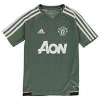 Tricou sport antrenament adidas Manchester United pentru baietei
