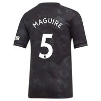 Tricou sport Third adidas Manchester United Harry Maguire 2019 2020 pentru copii