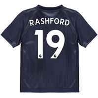 Tricou sport Third adidas Manchester United Marcus Rashford 2018 2019 pentru copii