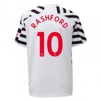 Tricou sport Third adidas Manchester United Marcus Rashford 2020 2021 pentru copii