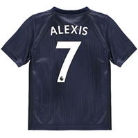 Tricou sport Third adidas Manchester United Alexis Sanchez 2018 2019 pentru copii