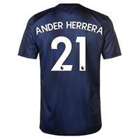 Tricou sport Third adidas Manchester United Ander Herrera 2018 2019