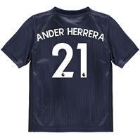 Tricou sport Third adidas Manchester United Ander Herrera 2018 2019 pentru copii