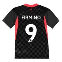 Tricou sport Third Nike Liverpool Roberto Firmino 2020 2021 pentru copii