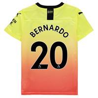 Tricou sport Third Puma Manchester City Bernardo Silva 2019 2020 pentru copii