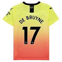 Tricou sport Third Puma Manchester City Kevin de Bruyne 2019 2020 pentru copii