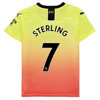 Tricou sport Third Puma Manchester City Raheem Sterling 2019 2020 pentru copii
