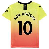 Tricou sport Third Puma Manchester City Sergio Aguero 2019 2020 pentru copii