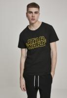 Tricou Star Wars Logo negru Merchcode